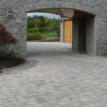 Driveway and Courtyard